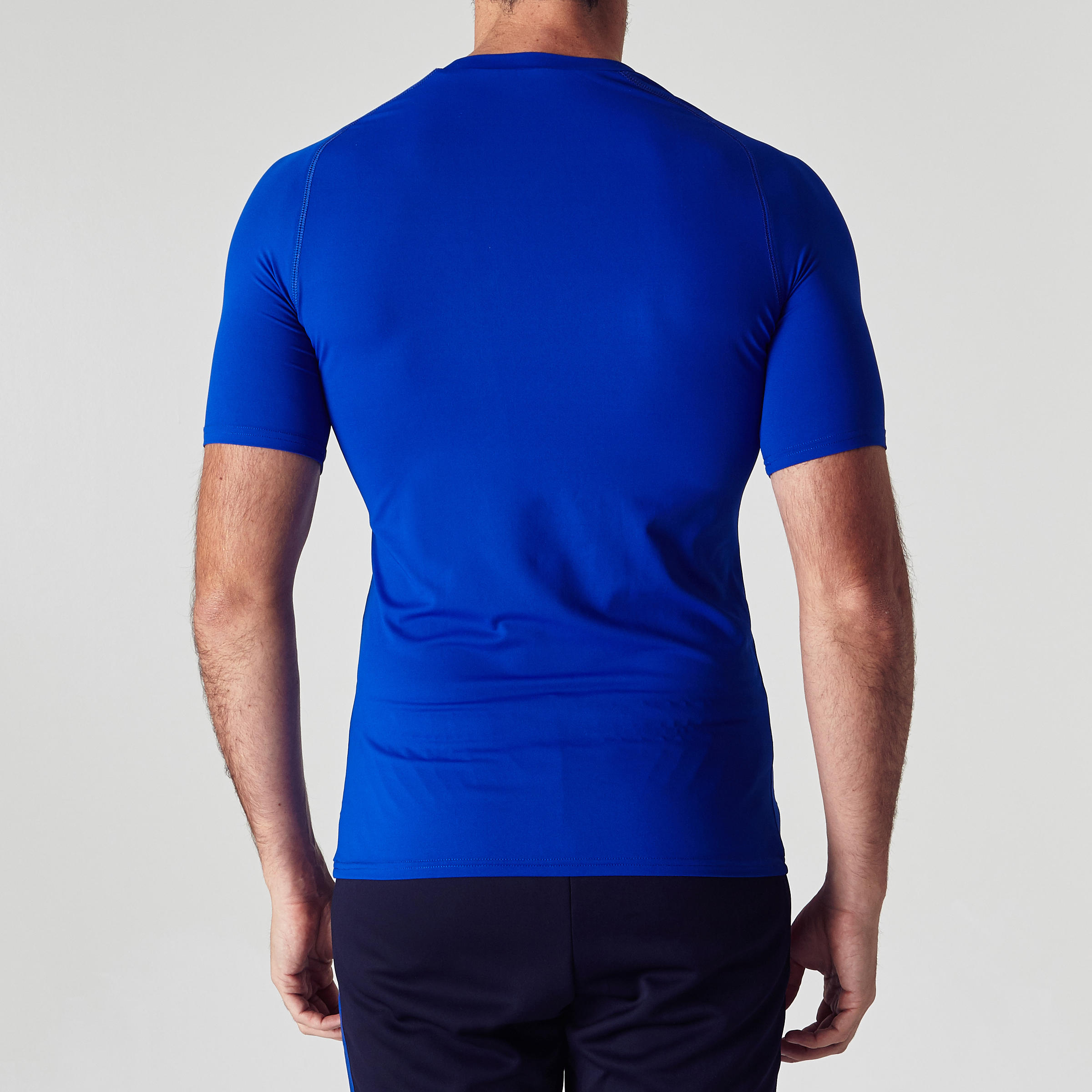 Keepdry 100 Adult Breathable Short-Sleeved Base Layer - Blue