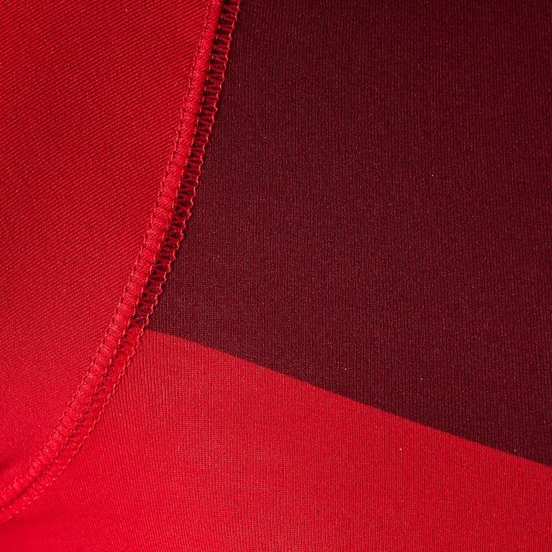 Áo lót ngắn tay thoáng mát Keepdry 100 cho Người lớn - Đỏ