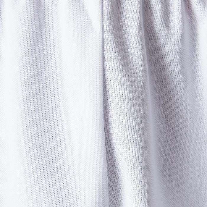 Fußballshorts F100 Erwachsene weiß