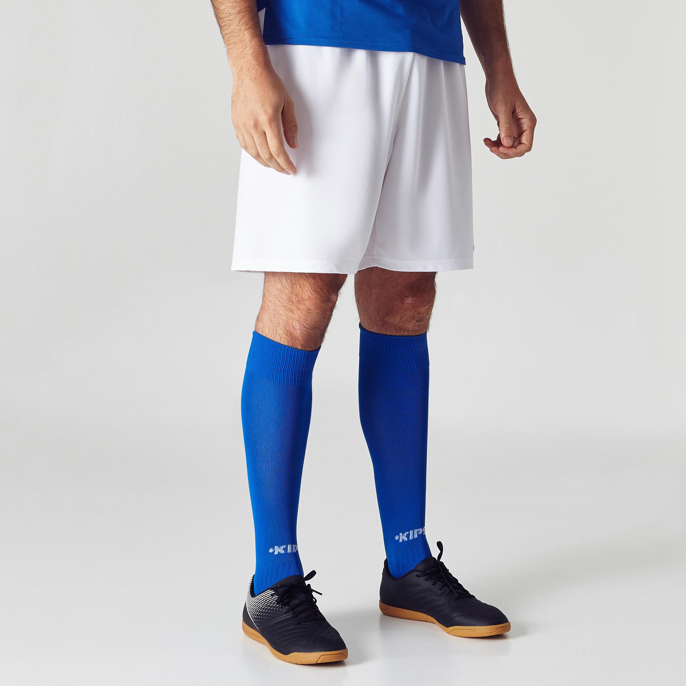 Short de soccer adulte F100 blanc