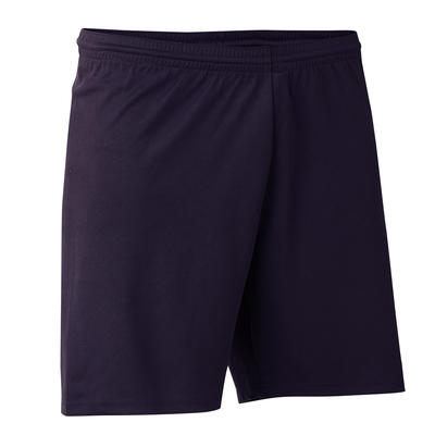 Pantaloneta de fútbol adulto F300 negro