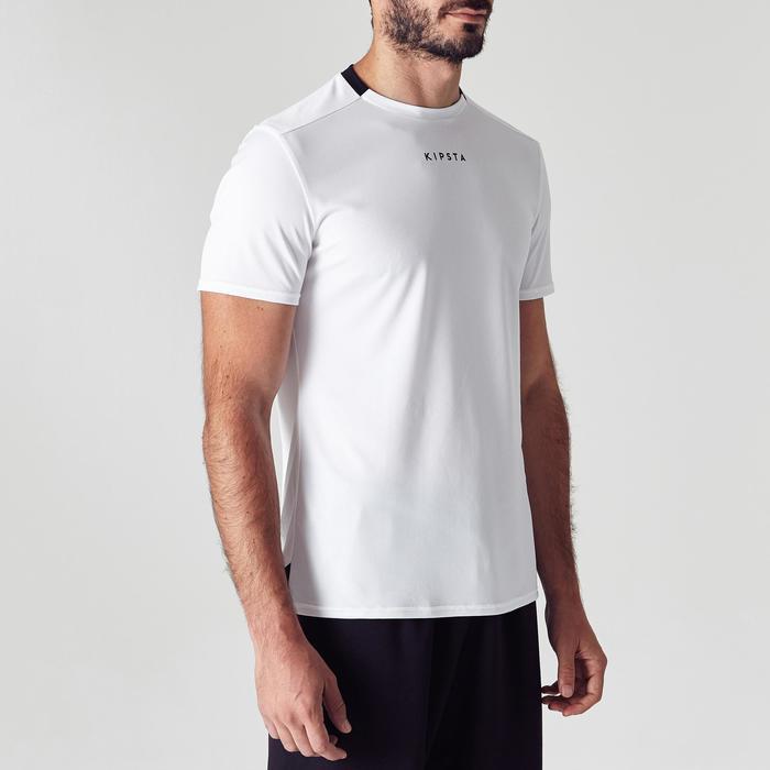 Voetbalshirt voor volwassenen F100 wit