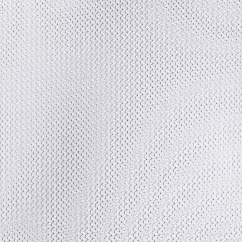 Camiseta fútbol adulto F100 Blanca