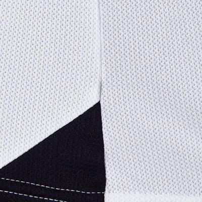 قميص كرة القدم للكبار F100 – باللون الأبيض