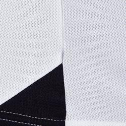 Voetbalshirt voor volwassenen F100 milieuvriendelijk wit