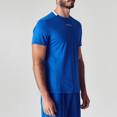 59c00ffe01e F100 Adult Football Shirt - Blue - Decathlon