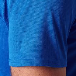 Camiseta Fútbol adulto Kipsta F100 blanco azul