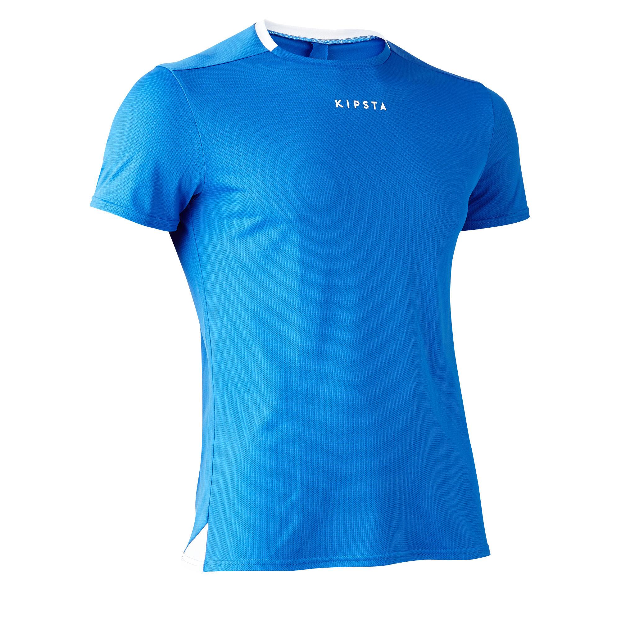 Kipsta Voetbalshirt F100 voor volwassenen blauw
