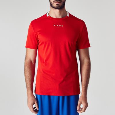 9af652e0ef6 Kipsta F100 Adult Football Shirt Red - Decathlon