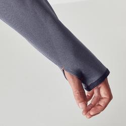 T500 Adult 1/2 Zip Training Sweatshirt - Grey