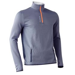 Sweat 1/2 zip d'entrainement de football adulte T500