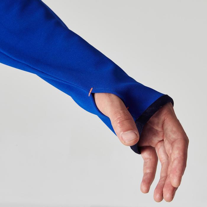 Sweat 1/2 zip d'entrainement de football adulte T500 - 1266053