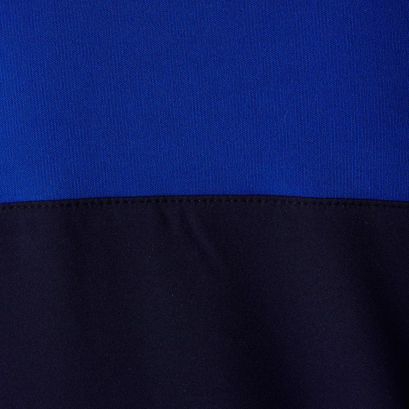 T500 Adult Football Training Half-Zip Sweatshirt - Blue