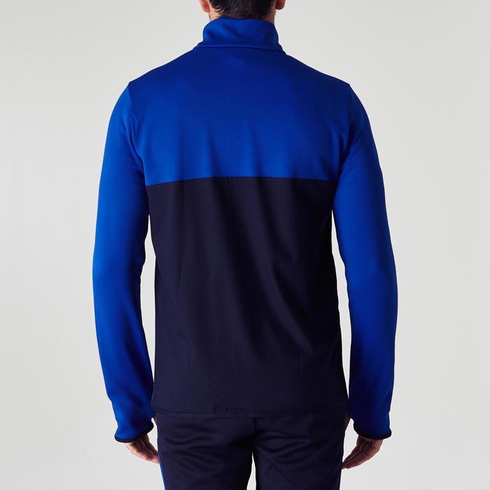 Sweat 1/2 zip d'entrainement de football adulte T500 - 1266060