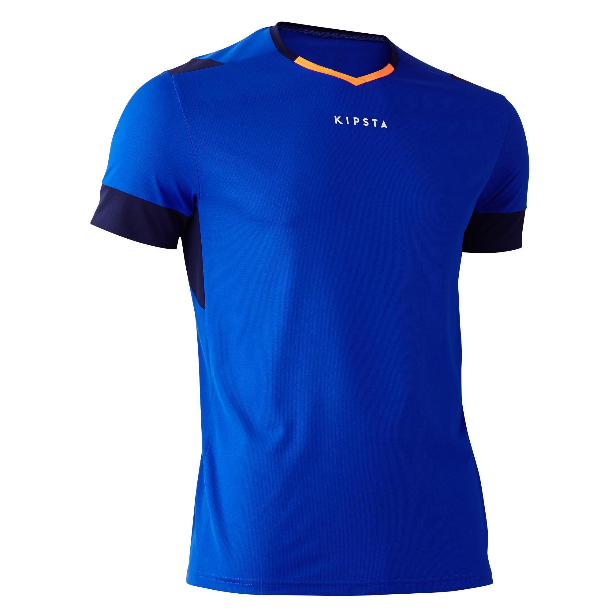 Kipsta Voetbalshirt F500 voor volwassenen blauw