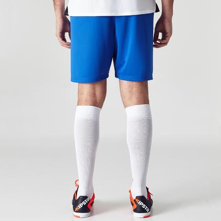 Short de fútbol adulto F100 azul