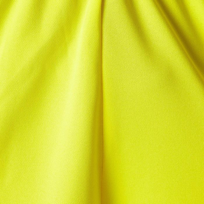 Fußballshorts F100 Erwachsene gelb