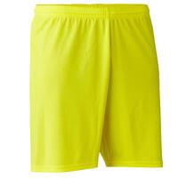 F100 Adult Football Shorts - Yellow
