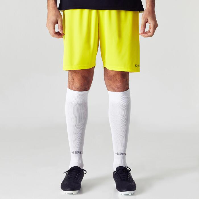Short de football adulte F100 - 1266115