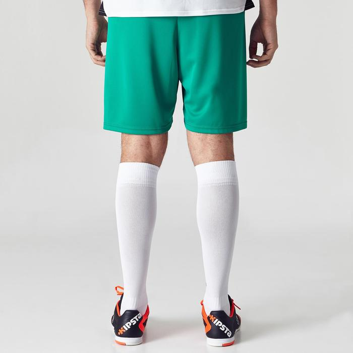 Short de football adulte F100 vert