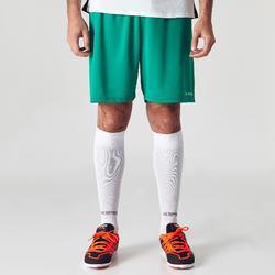 Voetbalshort volwassenen F100 groen