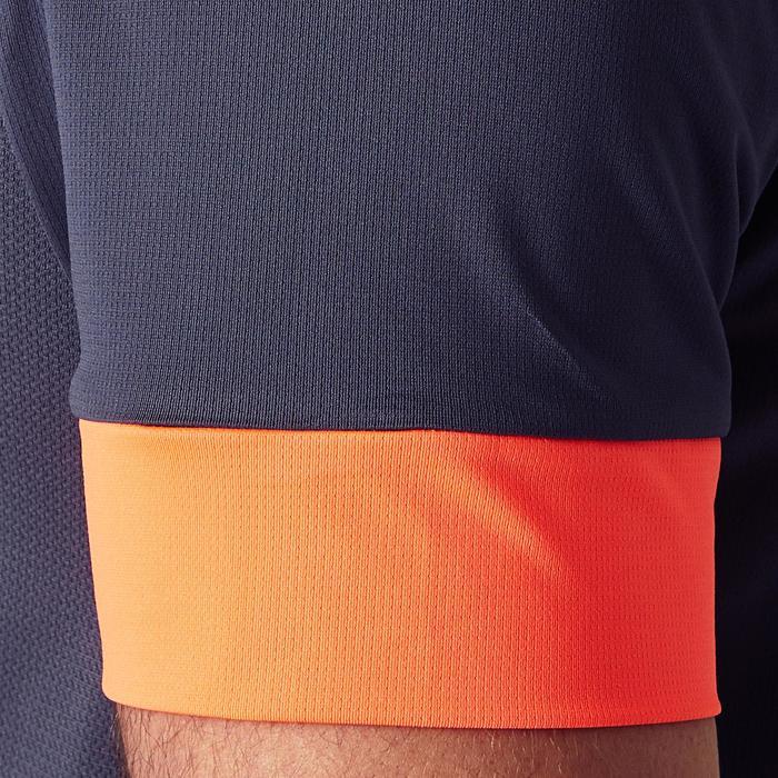 Voetbalshirt voor volwassenen F500 grijs