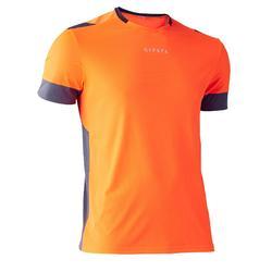 成人足球運動衫 F500 - 橘色