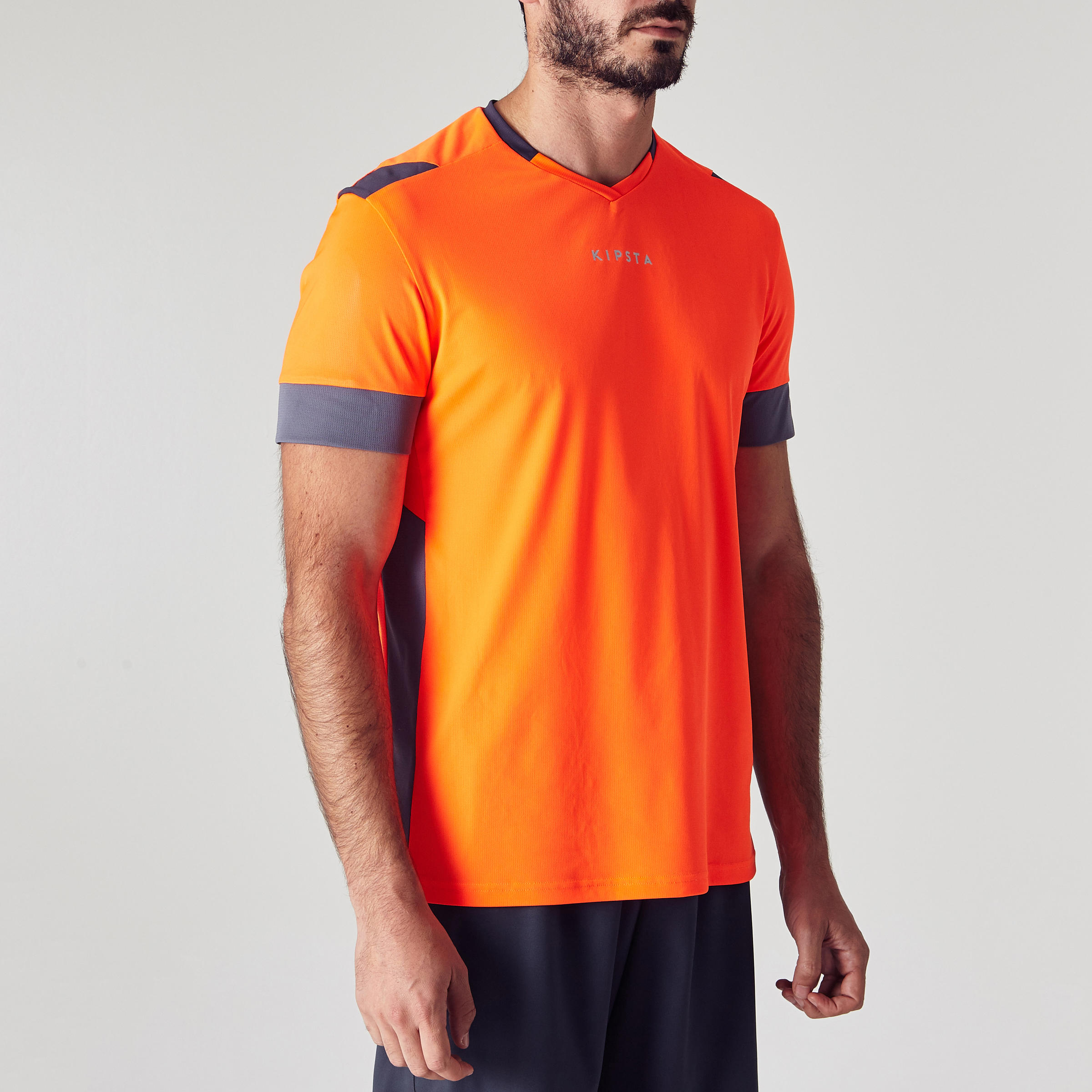 Men's Football Jersey F500 - Orange