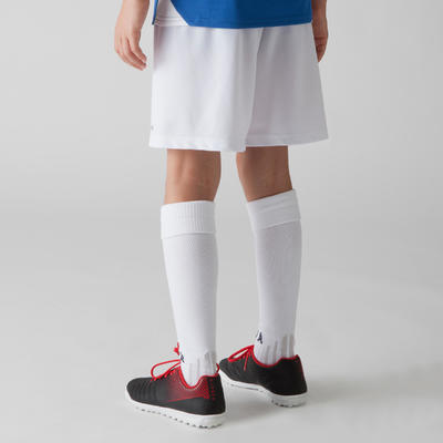 F100 Kids' Football Shorts - White