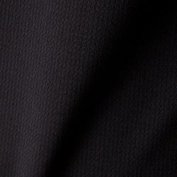 Fußballtrikot langarm F500 Kinder schwarz
