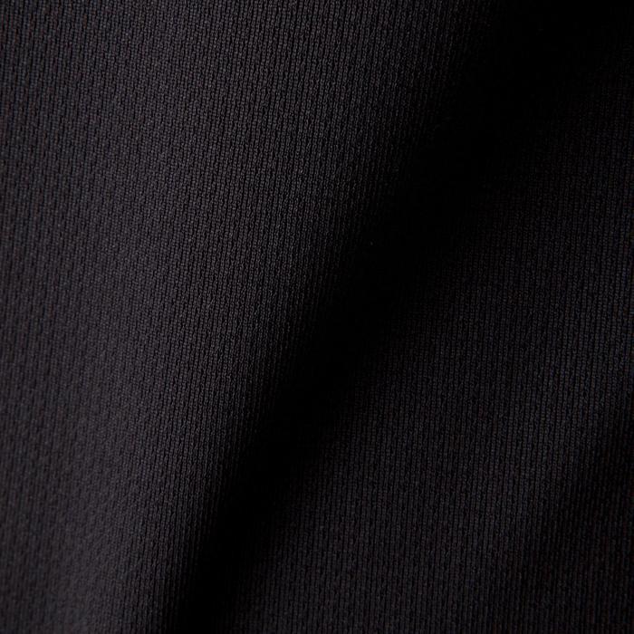 Maillot de football manches longues enfant F500 noir - 1266188