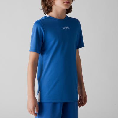 قميص كرة قدم للأطفال F100 – لون أزرق