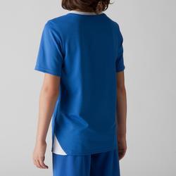 Fußballtrikot F100 Kinder blau