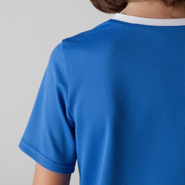Camiseta de Fútbol Kipsta F100 niños azul