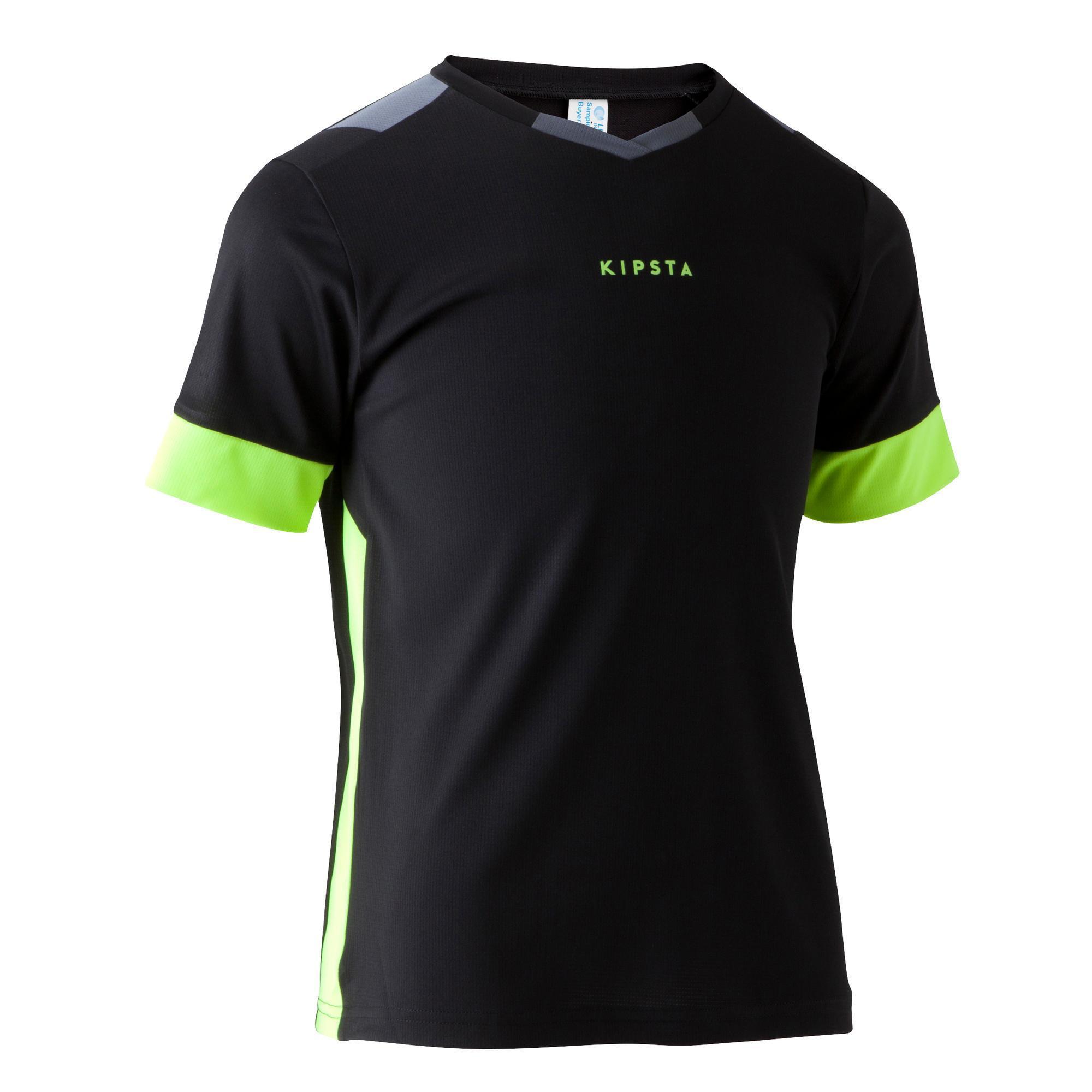 Kipsta Voetbalshirt kind F500 zwart