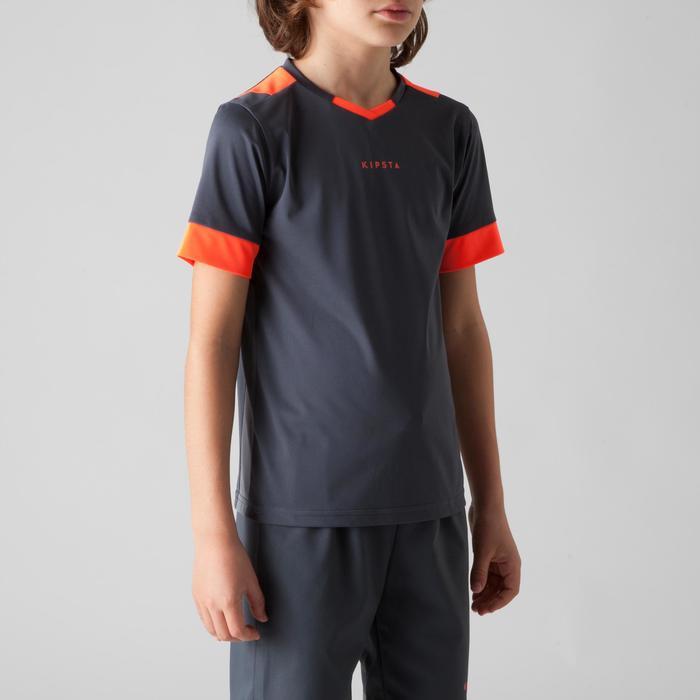 Maillot de football enfant F500 bleu et marine - 1266238