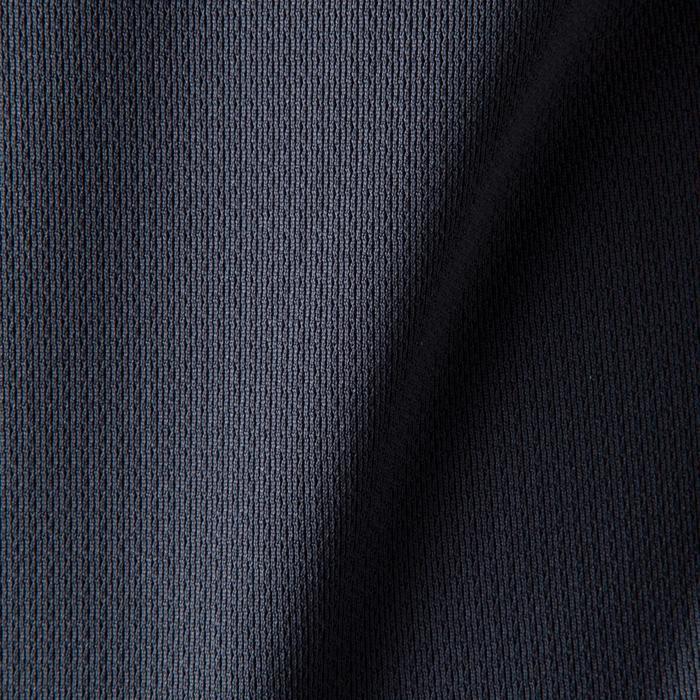Voetbalshirt voor kinderen F500 grijs en oranje