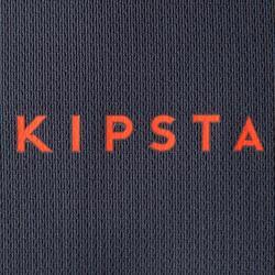 Camiseta de Fútbol júnior Kipsta F500 gris y naranja