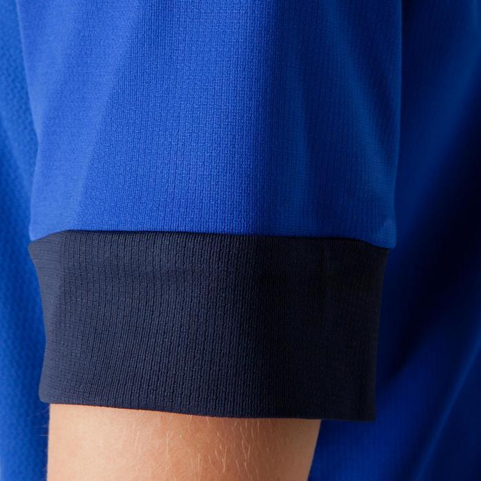 Maillot de football enfant F500 bleu et marine - 1266251