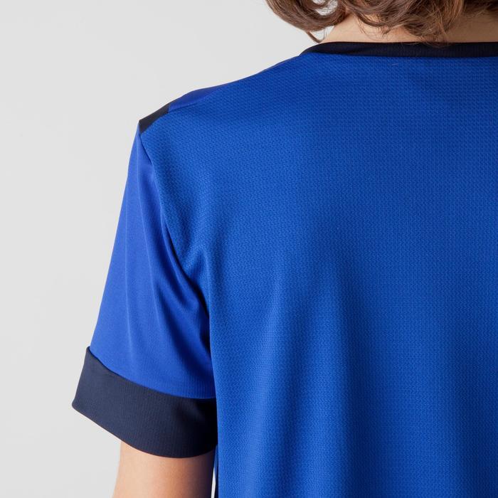 Maillot de football enfant F500 bleu et marine - 1266252