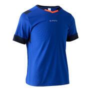 Nogometna majica F500 za otroke - modra