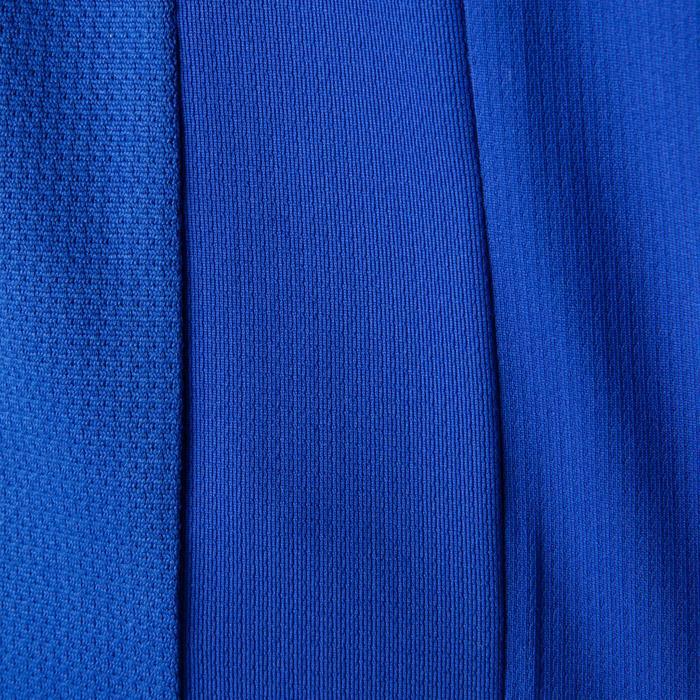 Camiseta de fútbol niños F500 azul y azul marino