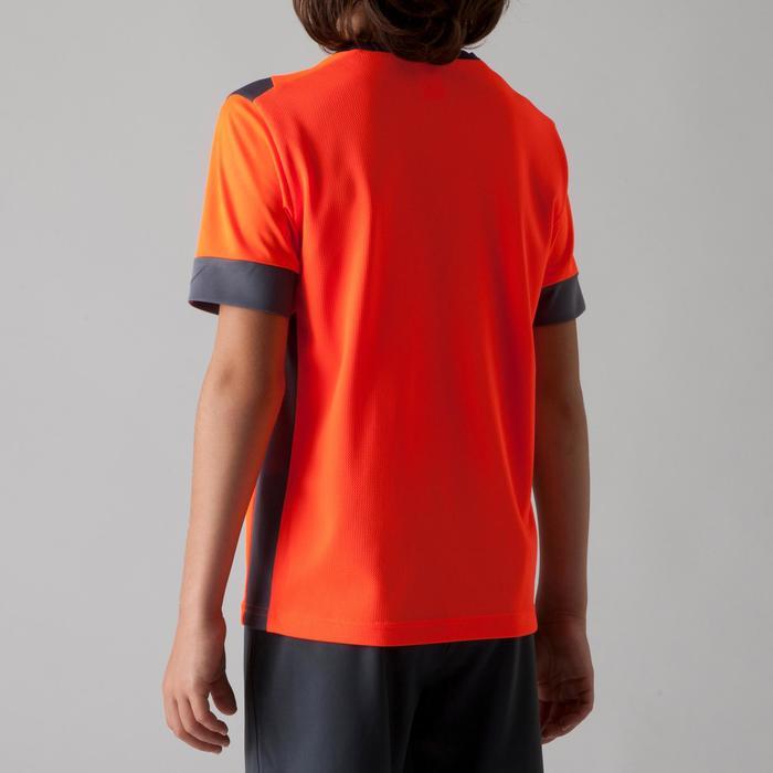 Maillot de football enfant F500 bleu et marine - 1266260