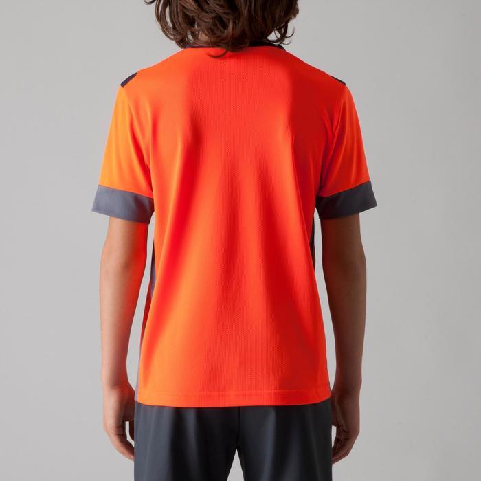 Maillot de football enfant F500 bleu et marine - 1266261