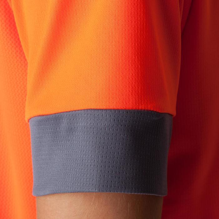 Maillot de football enfant F500 bleu et marine - 1266262