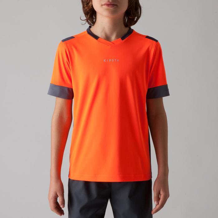 Maillot de football enfant F500 bleu et marine - 1266264