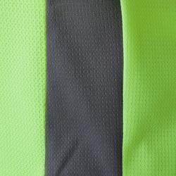 Fußballtrikot F500 Kinder gelb/grau
