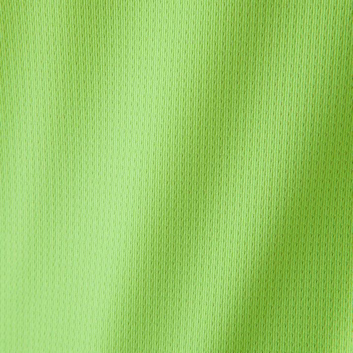 Voetbalshirt kinderen F500 geel/grijs