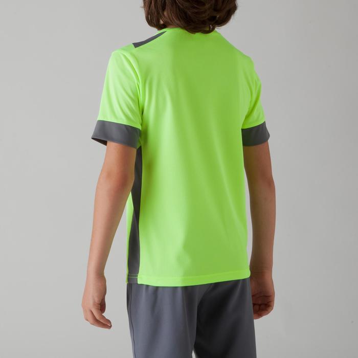 Maillot de football enfant F500 bleu et marine - 1266280