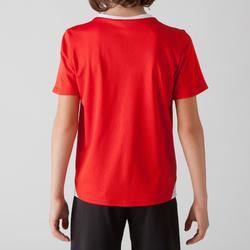 Camiseta de fútbol niños F100 rojo